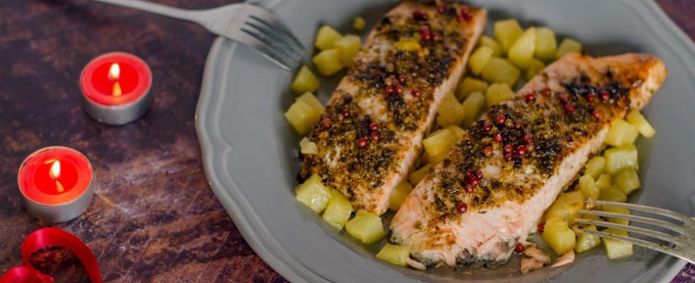Salmone marinato alle spezie: sapore agrodolce