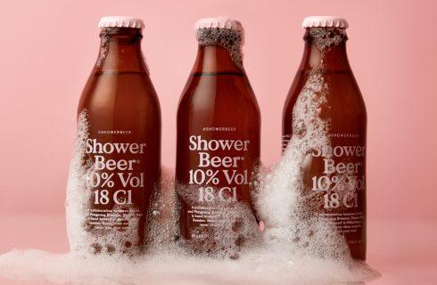 Shower beer, quando sotto la doccia si beve invece di cantare