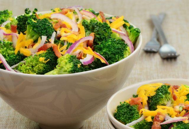 broccoli in insalata