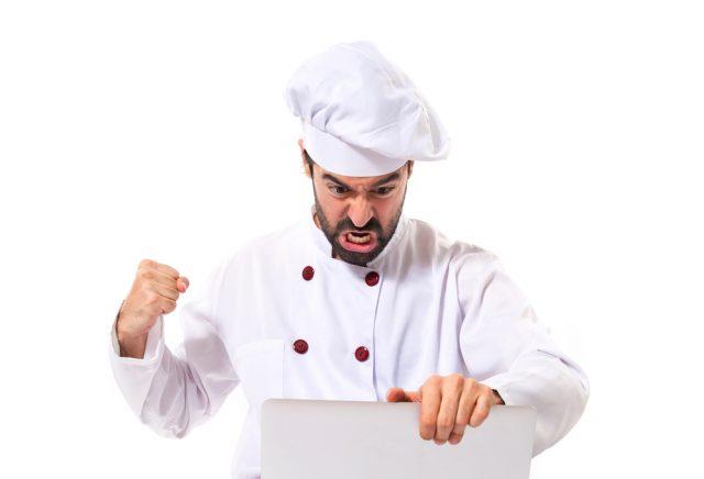 chef arrabbiato