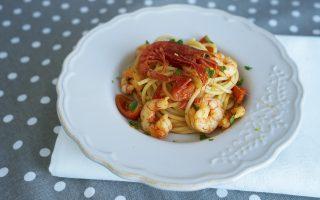 Sugo di gamberi: primi piatti di mare