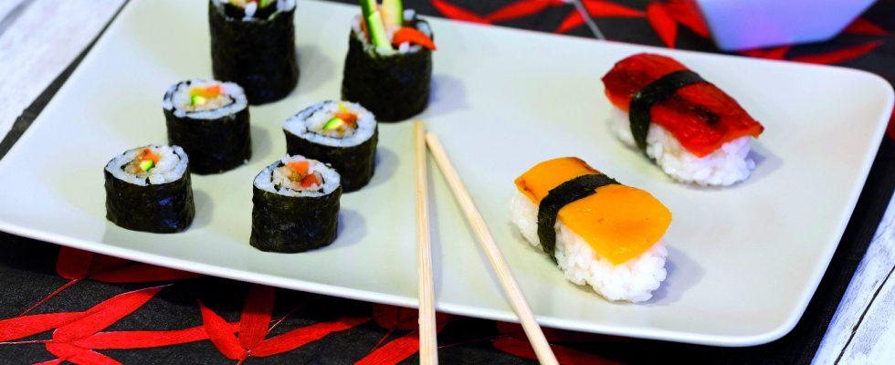 Sushi vegan: la variante senza pesce