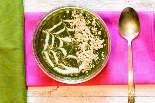 Vellutata di spinaci: cucina vegana