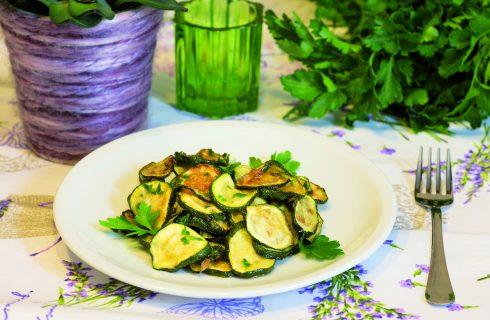 Zucchine fritte marinate: contorno saporito