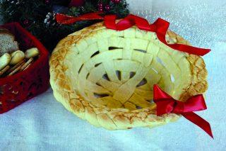 Bimby: cesto di pane intrecciato, un centro tavola alternativo