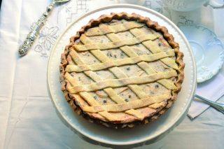 Bimby: ecco la crostata con frolla al pistacchio e ricotta