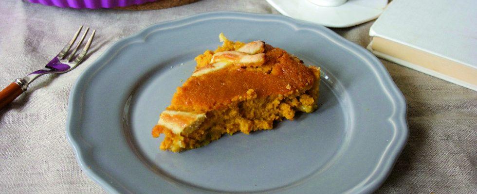 Crostata di carote e arance con bimby
