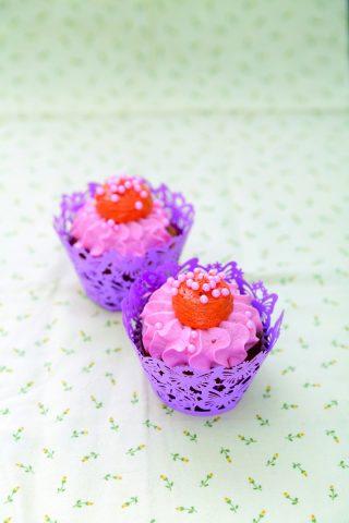Cupcake alle pesche: merenda golosa