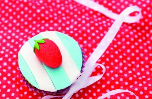 Cupcake alle fragole, perfetti per un pic nic