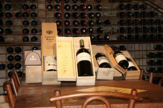 Vineria del Ristorante la Nicchia, Cavour
