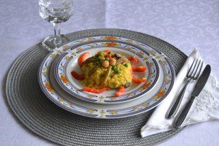 Paella con legumi e verdure: è più facile con il bimby