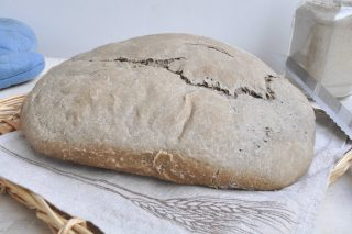 Pagnotta di grano arso: pane fatto al bimby