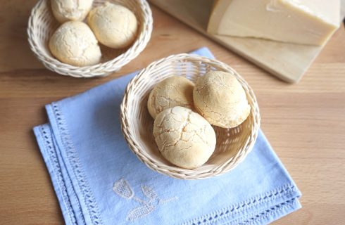 Pao de queijo, panini brasiliani da fare con il bimby