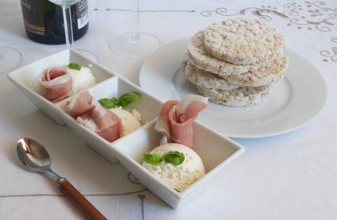 Gelato al parmigiano con prosciutto crudo: ecco come si fa con il bimby
