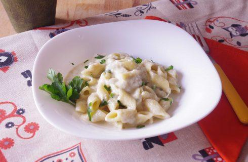 Pennette ricotta e carciofi: primo vegetariano con il bimby