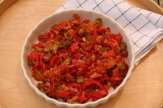 Peperoni ammollicati: la ricetta con il bimby