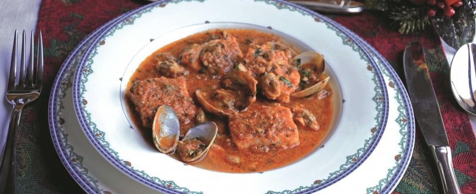 Zuppa di vongole e spada: preparatela con il bimby