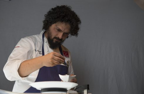 Pier Giorgio Parini cura i piatti di Bio's Kitchen di Bologna