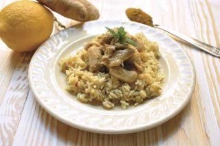 Pollo al latte di cocco, curry e riso al vapore: cucina orientale con il bimby