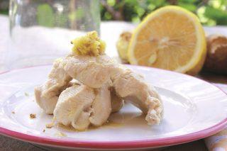 Pollo con limone e zenzero: secondo leggero con il bimby