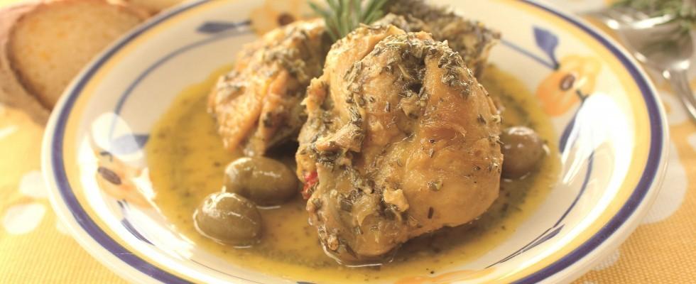Pollo con olive e rosmarino, con il bimby