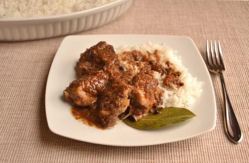 Pollo in salsa alla filippina: preparatelo con il bimby