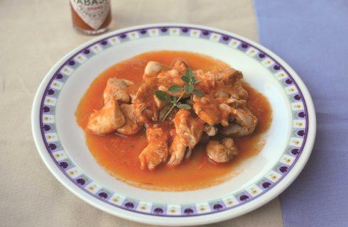 Pollo in salsa piccante, la variante con il bimby