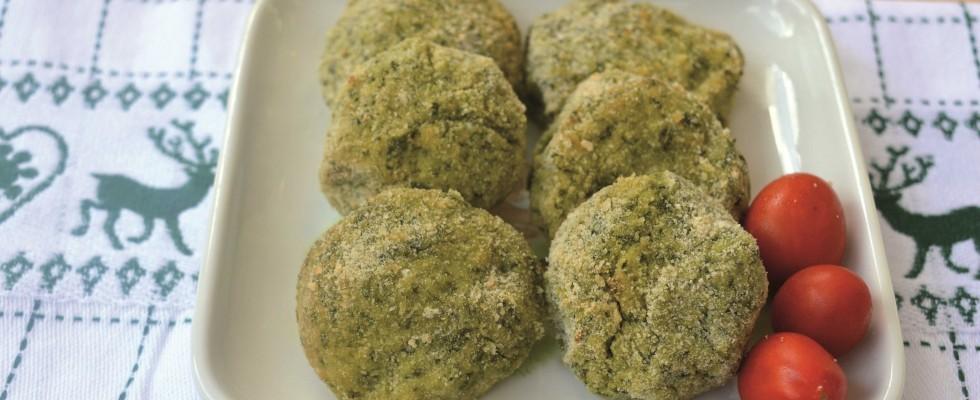 Polpette di bietole, secondo vegetariano con il bimby