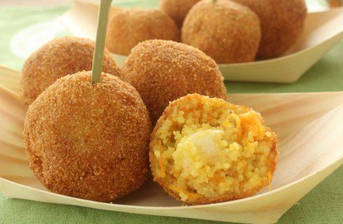 Polpette di cous cous con zucca: secondo vegetariano con il bimby