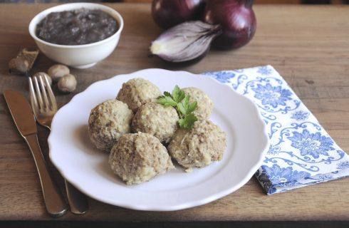 Polpette genovesi con il bimby: con salsa di cipolle