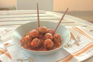 Polpette in agrodolce: secondo gustoso con il bimby