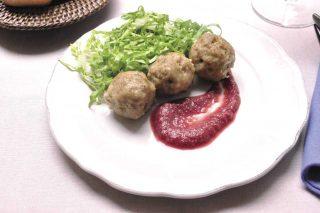 Polpette con salsa di melagrana: stupire gli ospiti con il bimby