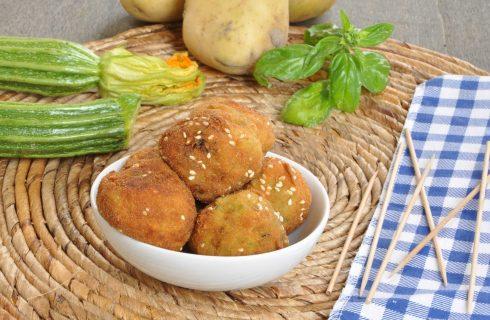 Bimby, antipasti vegetariani: polpette di patate e zucchine