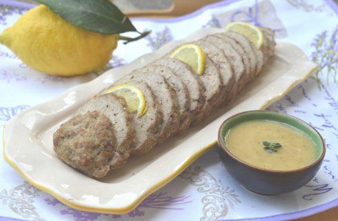 Bimby: polpettone di carne al profumo di limone