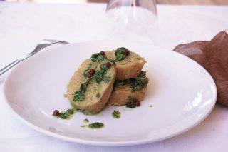 Polpettone di tonno e patate con salsa al basilico, da fare con il bimby