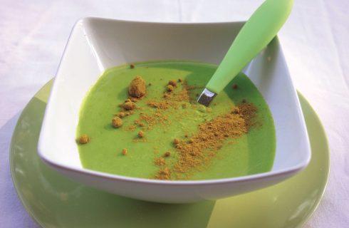 Purè di piselli al curry: fatelo con il bimby