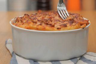 Ziti al forno con polpette, per il pranzo della domenica