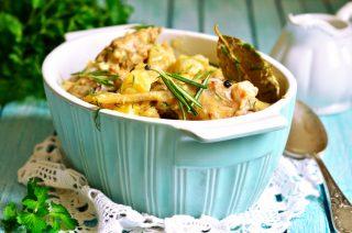 Coniglio in casseruola con patate: pranzo della domenica