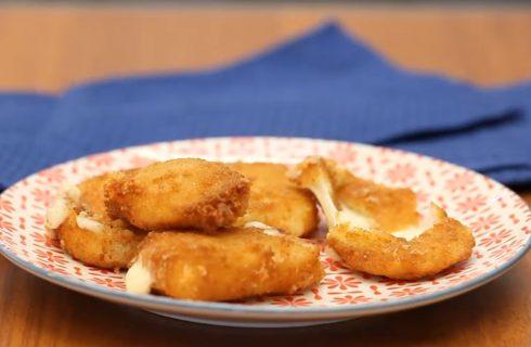 Cotoletta di mozzarella, un finger food per l'aperitivo