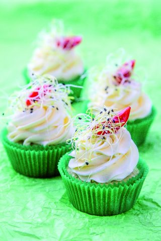 Cupcake alle zucchine: brunch di Pasqua