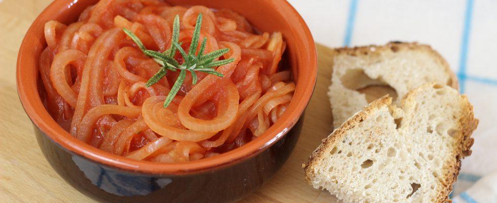 Friggione, cucina bolognese
