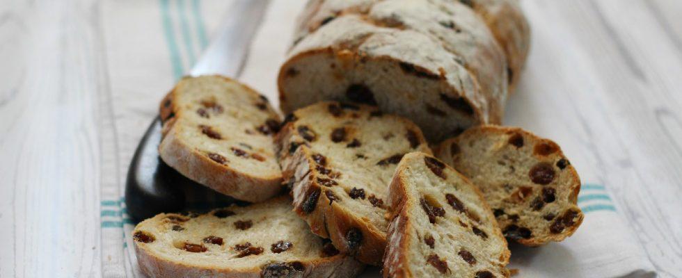 Pane con uvetta, tradizione lombarda