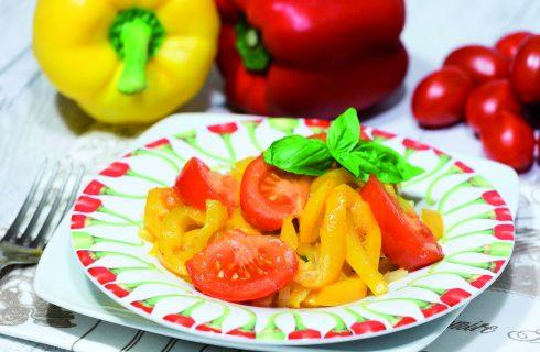 Peperonata alla bolognese: per l'aperitivo