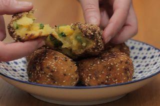 Polpette merluzzo e zucchine, cuore morbido e panatura croccante
