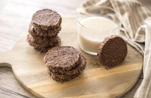 Biscotti sablè al cioccolato: friabili