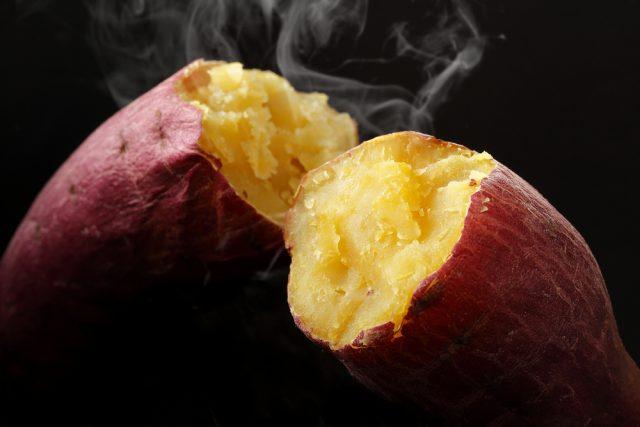 patate dolci al vapore