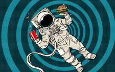 Cosa mangiano davvero gli astronauti?