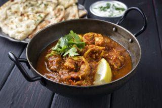 Curry di gamberi: cena etnica