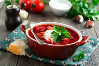 Borsch: zuppa dell'Est Europa