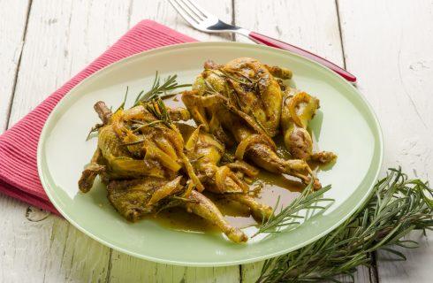 Quaglie al curry: la nostra ricetta